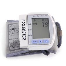 LCD Handgelenk Blutdruck Messgerät Oberarm Medizinisch Bedarf Praktisch