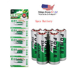 5x GP 23A GP 23AE 21/23 A23 23GA MN21 VR22 12V Alkaline Button Battery 23A New