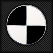 Emblem Ecken Schwarz f. BMW E36 E46 E39 E60 Z4 E89 ALLE MODELLE ohne Felgen