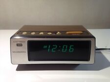 Micronta Vintage Digital Alarm Clock with Large Green Display 63-817 Auto Dimmer