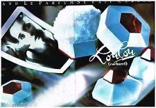 Publicité Advertising 1988 (2 pages) Crème de Toilette loulou par Cacharel Moon