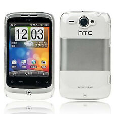 NEW CRYSTAL CLEAR SERIES CASE HARD BACK COVER FOR HTC WILDFIRE S