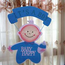 Blue Baby Shower Hanging Foam Boy Centerpiece Decoration