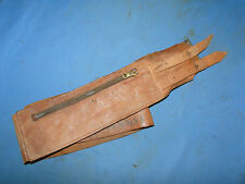 WWII US Army Leather Money Belt - Named e30703e