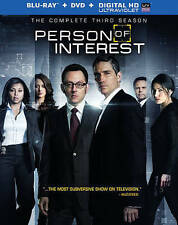 Person of Interest The Complete Third Season (Blu-ray/DVD/Digital,10-Disc Set)