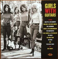 GIRLS WITH GUITARS 60s Garage punk mod fuzz girlgroups NEW MINT SEALED SCELLE ►♬