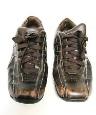 "Skechers ""Talus Ultimatum"" Brown Leather Lace up Sneakers Shoes - 61181-US Sz 9"