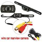 Car Rear View Camera Reversing Backup Parking License Plate Night Vision Cam DH