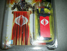 G.I. Joe Hooded Cobra Commander Black Suit Podium SDCC comic con 2008 25th GI
