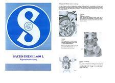 Reparaturanweisung SACHS Diesel 600 Holder A 12 B12 E12