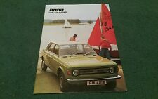 March 1974 FIAT 128 SALOON / ESTATE / RALLY / SPORT COUPE - UK BROCHURE