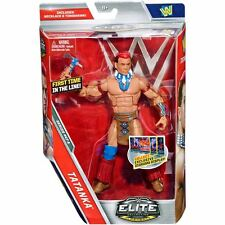WWE ELITE 47 SERIES TATANKA LEGENDS WWF NXT WRESTLING MATTEL FIGURE ACCESSORIES