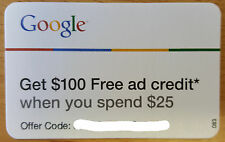 Google Adwords $100 Advertising Credit & PPC Mngmt, US/EU/World - Fast Delivery