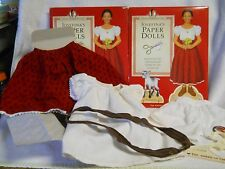 "Pleasant Company Josefina 18"" Doll Meet Outfit with Paper Dolls American Girl"