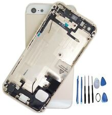 Gold Complete Housing Back Battery Door Cover Mid Frame Assembly for iPhone 5