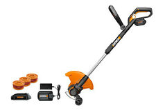 "WG175.1 WORX 32V 12"" MaxLithium Grass Trimmer/Edger/Mini Mower +2 Batteries"