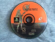 Valkyrie Profile PS1 PSX (Sony PlayStation 1, 2000) - Disc 2 Only - RARE