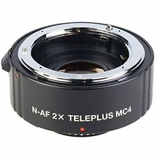 Kenko 2X TelePlus 4 Element MC4 DGX Teleconverter For Nikon Digital SLRs