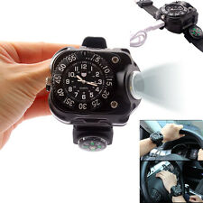 Parkour Sporting Driving Travel Lighting Wrist Watch Flashlight Torch Light
