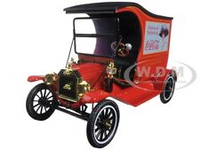 1917 FORD MODEL T CARGO VAN COCA-COLA 1/18 MODEL BY MOTORCITY CLASSICS 449804