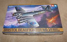 Tamiya Bristol Beaufighter Mk VI Night Fighter 1/48 #61064 Complete & Unstarted