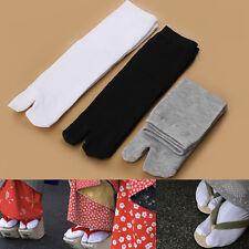 3 paio Japanese  Sandalo Calzini Sandal Split Toe Tabi Ninja Socks Unisex