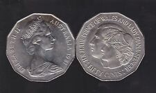 1981 Australia 50 Cent Coin Lady Diana Charles Prince of Wales Royal wedding