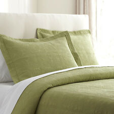 MATELASSE QUILTED PILLOW : HOTEL COTTON THROW TOSS CUSHION