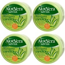 4 X 50 ml -   SPANISH -  Hand and Body Cream with- ALOE VERA . Instituto Espanol