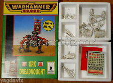 DCO89 DREADNOUGHT ORK WARHAMMER 40000 W40K (ONE ARM MISSING)