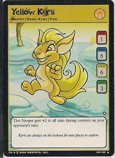 Neopets CCG  - Yellow Kyrii #33
