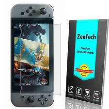 2X ZenTech® Tempered Glass Screen Protector Guard Shield For Nintendo Switch