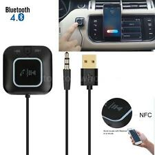 Wireless Bluetooth Car Home Audio Receiver Music Adapter NFC Aux 3.5mm Handsfree