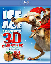 Ice Age: A Mammoth Christmas Special 3D (Blu-ray 3D + Blu-ray), New DVDs