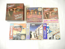 Sweet JAPAN 5 titles Mini LP SHM-CD PROMO BOX SET
