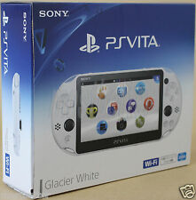 New PS Vita PCH-2000 ZA22 Glacier White Wi-Fi Console Sony PlayStation
