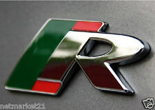 New Jaguar R Metal Emblem Styling  XF XFR XK XKR SUPERCHARGED Badge Sticker Logo