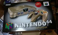 NEW Nintendo 64 Gold Console N64 system Japan *SUPER RARE - $200 OFF SALE*