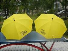 Yellow How I Met Your Mother Umbrella Windproof Anti Rain Straight Umbrella