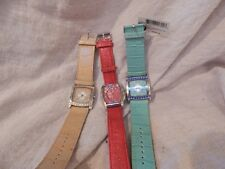 Lot of 3 Bijoux Terner Ladies Watches