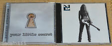 Lot of 2 Cd's - Melissa Ethridge, Never Enough, Your Little Secret.