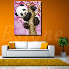 5D DIY Cross Stitch Panda Flowers Tree Diamond Embroidery Painting Home Decor