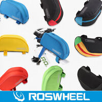 Roswheel Bicycle Mountain Bike Cycling Frame Front Top Tube Bag Pouch Pannier 1L