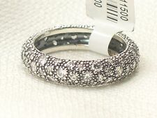 New Pandora Sterling Silver 190915CZ-56 Cosmic Stars Sparkling Ring