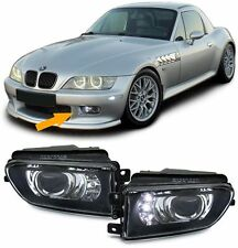 FOG LIGHTS WITH LED & FITTING BRACKETS FOR BMW E39 5 SERIES & Z3