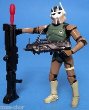 Star wars loose rots ultra rare at-rt driver avec missile tir blaster. C-10+