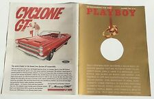 COUVERTURE SEULE / COVER ONLY # PLAYBOY US # 12/1965 #