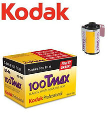 KODAK (ISO 100) T-MAX B&W Black & White 135 35mm Film