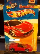 HOT WHEELS 2012 FE #25 -2 458 SPIDER RED NMC AMER