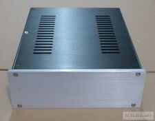 2609 silver full Aluminum Preamplifier enclosure/amplifier chassis AMP BOX
